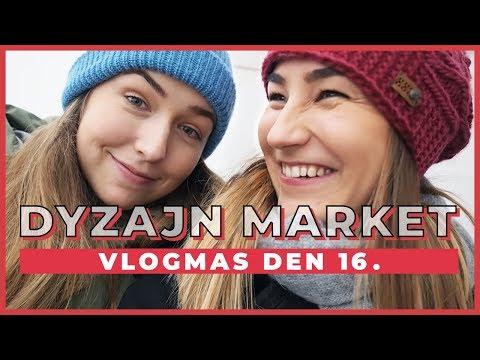 VLOGMAS Den 16. | Víkend na Dyzajn marketu!