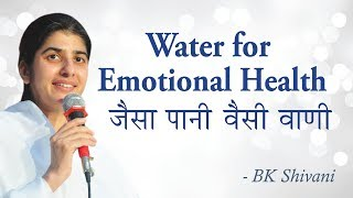 Water for Happiness: Part 3: BK Shivani (English Subtitles)