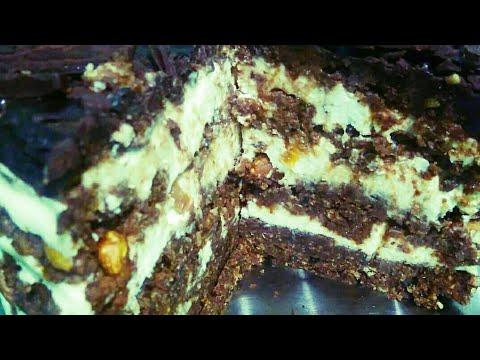 """Как сделать за 15минут Полезный Фантастически Вкусный торт Без Выпечки """"Тающая Загадка"""" Рецепт☕🎂🍰🔥🔥💯"""