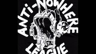 anti nowhere league-we will not remember you