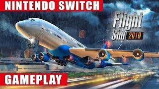 Flight Sim 2019 Nintendo Switch Gameplay