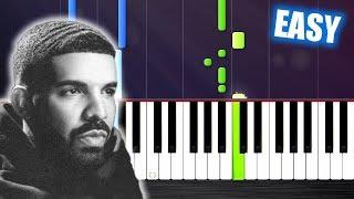 Drake   In My Feelings   EASY Piano Tutorial By PlutaX