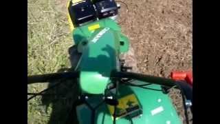 Мотоблок бензиновый Caiman 320 с пневмоколесами - видео №1