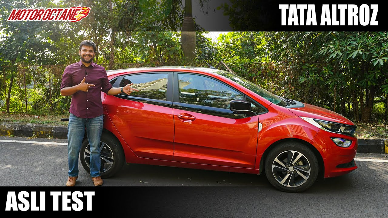Motoroctane Youtube Video - Tata Altroz Asli Test - Can't Miss - Loads of Details