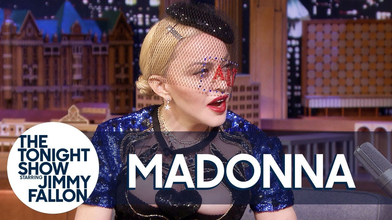 Madonna Gets Flustered Remembering Jimmy Introducing Her to President Obama thumbnail