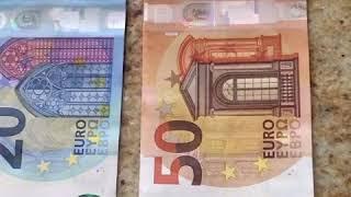 Paris Euro money exchange