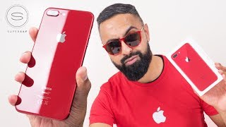 RED iPhone 8 Plus UNBOXING