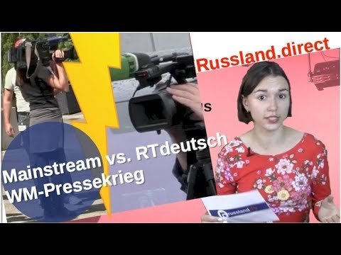 RTdeutsch vs. Mainstream: WM-Pressekrieg [Video]