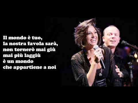 , title : 'Gigi D'Alessio e Anna Tatangelo - IL MONDO E' MIO + testo'