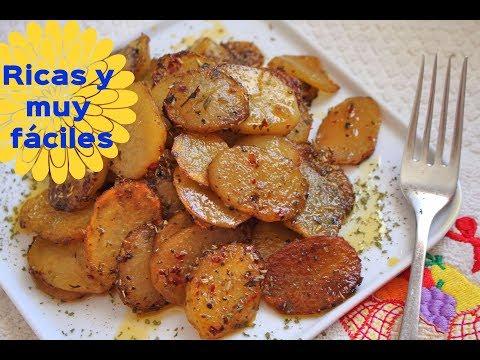 Cómo hacer patatas especiadas para guarnición muy fáciles | El Dulce Paladar