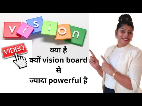what is vision video? How it is more powerful than vision board and vision book   law of attraction