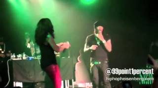 Future & Kelly Rowland Performing - Neva End Remix (Live) Key Club Los Angeles