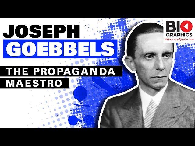 Wymowa wideo od joseph goebbels na Angielski