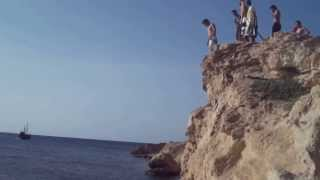 preview picture of video 'Mehdi Cliff Jumping Monastir Tuinisia'