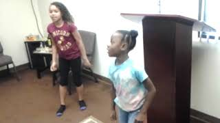 THE CHURCH OF OBEDIENCE: Youth day The girl's praise dance 9-30-2018