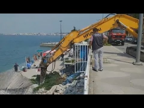 Ndërtimet pa leje, nis aksioni i prishjes në bregdetin e jugut