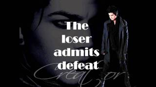The Circle Adam Lambert Lyrics