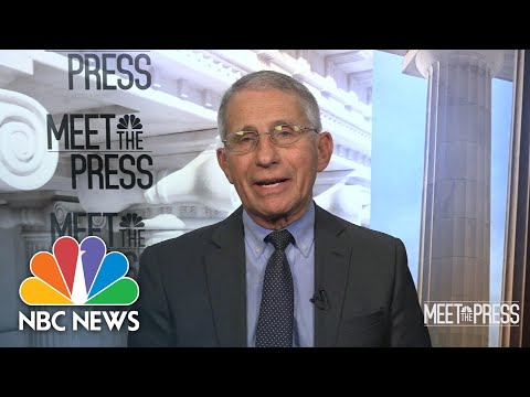 Full Fauci Interview: Instead of Covid Spikes, We 'May See Blips' | Meet The Press | NBC News