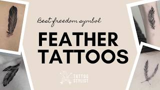 Feather Tattoo Ideas - Over 100 Examples Of Beautiful Feathers For Women And Men | TattooStylist.com