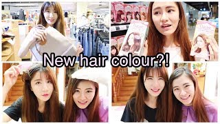 Vlog: Shopping at Salvation Army and Dyeing Our Hair at Home