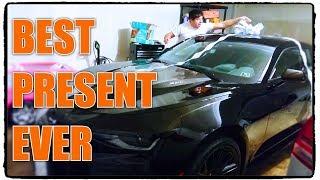 Husband Buys Himself New Camaro ZL1 for Christmas!