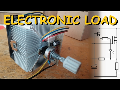 Electronic load DIY (constant current)