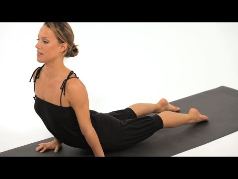 HOW TO DO A UPWARD FACING DOG CORRECTLY