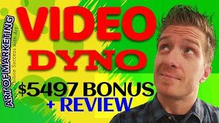 VideoDyno Review, Demo, $5497 Bonus, Video Dyno Review