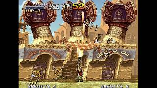 Metal Slug 2 - Neo Geo CD /Walkthrough /Gameplay