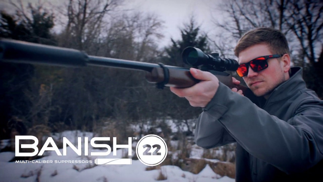 Banish 22 Multi-Caliber Suppressor