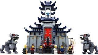 The LEGO Ninjago Movie Set 70617 - Ultimativ ultimatives Tempel-Versteck / Unboxing & Review deutsch
