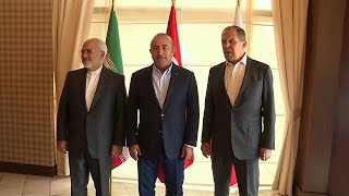 Iran, Russia and Turkey diplomats meet to discuss Syria
