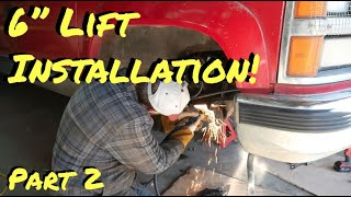 Chevy Truck Rough Country Lift Install | Part 2 - Vice Grip Garage EP49
