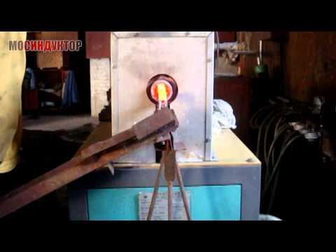 Индукционный кузнечный нагреватель ИКН-100