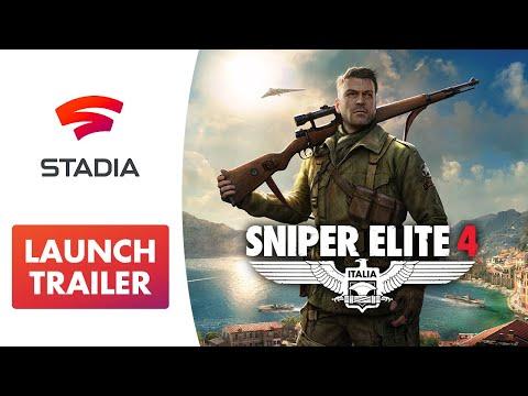 Trailer de lancement Stadia de Sniper Elite 4