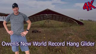 Owens New World Record Hang Glider 2020 (4K Insta360 One R 1 Inch)
