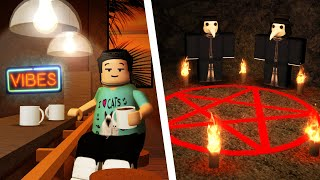 The Roblox Vibe Cafe has some DARK SECRETS..