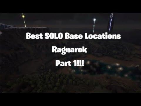 NEW BEST BASE LOCATIONS!! Ark RAGNAROK *DESERT CAVE (31-1
