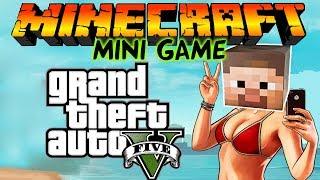 Grand Theft Auto 5 в Майнкрафт: Мини игры [GTA 5]