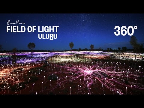 Uluru's Stunning Field of Lights