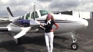 AIRPLANE FOR SALE: 1984 Beechcraft Baron 58 By Carolina Aircraft