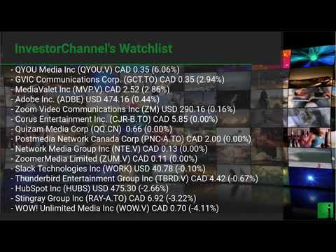 InvestorChannel's Media Watchlist Update for Thursday, May ... Thumbnail