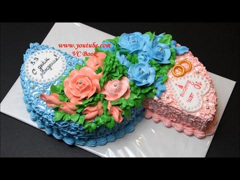 Идея торта для двух именинников
