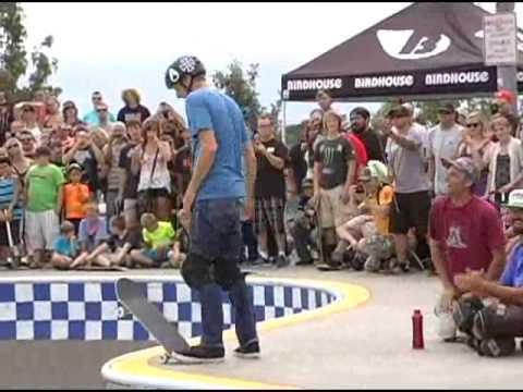 Tony Hawk and his Birdhouse Skate Team visit Davenport's Skatepark