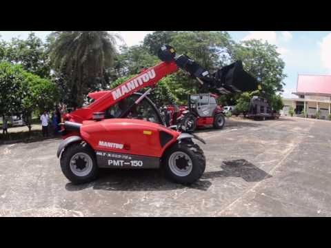Manitou demonstration at Sima Roadshow
