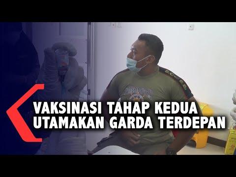 Ratusan Anggota Satpol PP dan Pemadam Kebakaran Ikuti Vaksinasi Covid-19