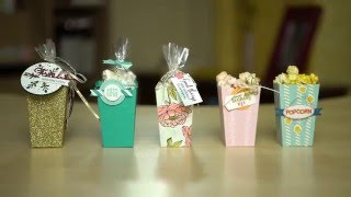 Popcorn Box Thinlits from Stampin' Up!