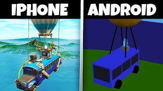 NEW Fortnite Android EARLY GAMEPLAY!