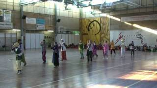 preview picture of video 'Ball 6è Carnaval 2010 Escola Sant Josep'
