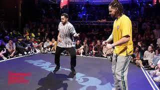 Romulo vs Nazar 2ND ROUND BATTLE House Dance Forever 2019